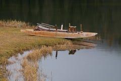 Misurina lake Royaltyfri Fotografi