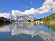 Misurina Lake Royalty Free Stock Photography