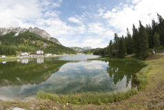 Misurina Lake, Italy Royalty Free Stock Image
