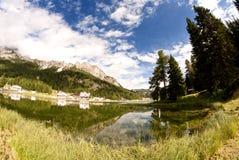 Misurina Lake, Italy Stock Image