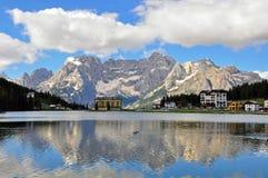 Misurina lake, Italy Royalty Free Stock Image