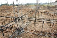 Misvorm staaf, staalstructuur. Royalty-vrije Stock Foto