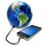 Mit Berührungseingabe Bildschirm Smartphone Stockbilder
