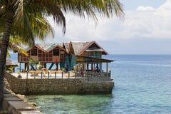 Mit Blick auf die Inseln Stockfotografie