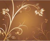 Mit Blumen Lizenzfreies Stockfoto