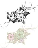 Mit Blumen Lizenzfreie Stockbilder