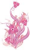 Mit Blumen Lizenzfreies Stockbild