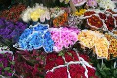 Mit Blumen Stockfotografie