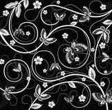 Mit Blumen und Basisrecheneinheit Stockbild
