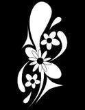 Mit Blumendekoratives Lizenzfreies Stockbild