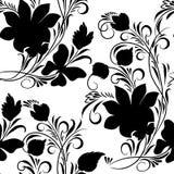 Mit Blumennahtloses Stockfoto