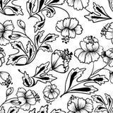 Mit Blumennahtloses Lizenzfreie Stockfotos