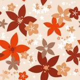 Mit Blumennahtloses Lizenzfreies Stockfoto