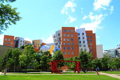 MIT Campus Building Royalty Free Stock Image