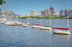 MIT żeglowania pawilon - Cambridge, MA Zdjęcie Stock