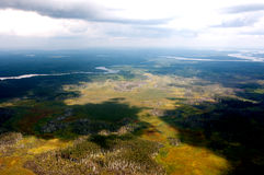 Mit einem Aufzug von 600 Metern über dem Boden Lizenzfreies Stockfoto