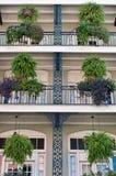 Mit einem Gatter geversehene Architektur Stockfotos