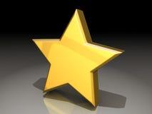 mit einem Stern Stockfotografie