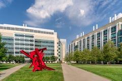 MIT en Boston Imagen de archivo libre de regalías