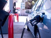 Mit Gas auffüllen Lizenzfreies Stockfoto
