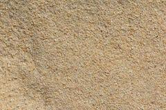 Mit gelbem Sand Beschaffenheit Lizenzfreie Stockfotos