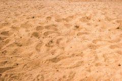Mit gelbem Sand Beschaffenheit stockfotografie