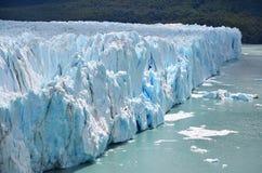 Mit Gletscher in der Sonne stockfoto