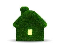 Mit Gras bedecktes Haus Lizenzfreies Stockfoto