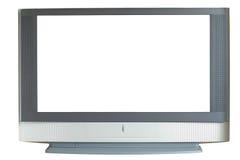 Mit großem Bildschirm Fernsehapparat Stockbilder