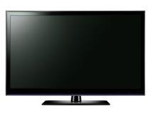Mit großem Bildschirm LCD-Fernsehapparat Stockfotografie