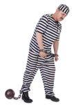 Mit Handschellen gefesselter Gefangener Lizenzfreies Stockbild