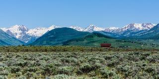 Mit Haube Butte, Kolorado lizenzfreies stockfoto