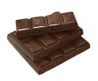 Mit Kohlensäure durchgesetzte Schokolade Stockfoto
