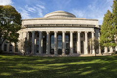 MIT. The main building of the Massachusetts Institute of Technology in Boston, Massachusetts, USA Royalty Free Stock Image