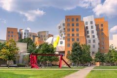 MIT Stata中心在波士顿 免版税图库摄影