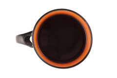 Mit Tasse Kaffee stockbilder