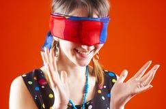 Mit verbundenen Augen Spiel - 2 Lizenzfreies Stockbild