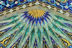 Mit Ziegeln gedeckte Wand Lizenzfreie Stockfotografie