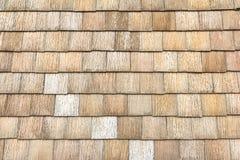 Mit Ziegeln gedeckter Dachsteinblock Stockfotos