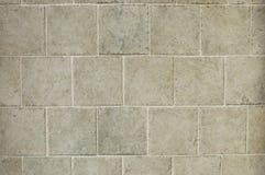Mit Ziegeln gedeckter Fußboden Stockbild