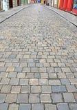 Mit Ziegeln gedeckter Fußboden Lizenzfreies Stockfoto