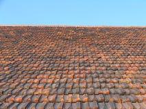 Mit Ziegeln gedecktes Dach, Stockbilder