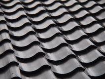 Mit Ziegeln gedecktes Dach Lizenzfreie Stockfotos