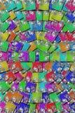 Mit Ziegeln gedecktes Mosaik Lizenzfreies Stockfoto