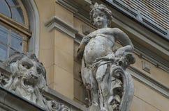 Mita het Fietserhuis, siercherubim Royalty-vrije Stock Foto's