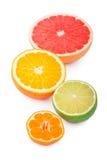 Mitad de frutas Imagen de archivo libre de regalías