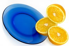 Mitad de la naranja Foto de archivo