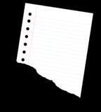 Mitad de la nota Ilustración del Vector