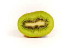 Mitad del kiwi Fotos de archivo libres de regalías