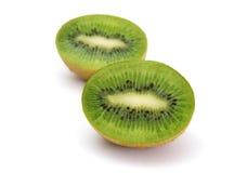 Mitad del kiwi 2 Foto de archivo libre de regalías